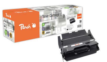 Peach  Tonermodul schwarz kompatibel zu Lexmark Optra T 642