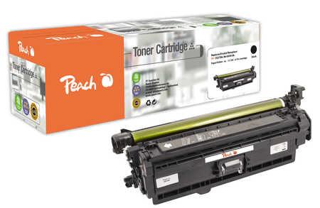Peach  Tonermodul schwarz kompatibel zu HP Color LaserJet Enterprise CP 5525 Series
