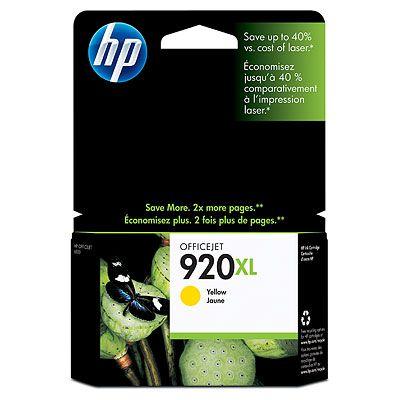 Original  Tintenpatrone gelb HP OfficeJet 6000
