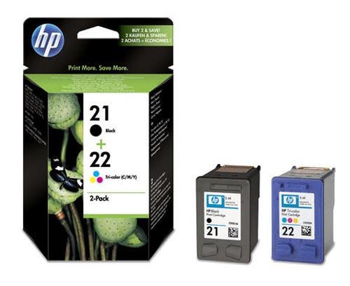 Original  Combopack Tinte schwarz, color, HP OfficeJet 1410 XI