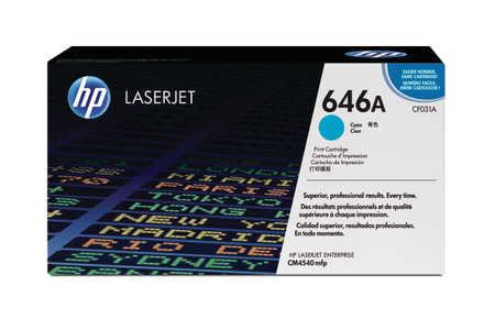 Original  Tonerpatrone cyan HP Color LaserJet Enterprise CM 4540 fskm MFP