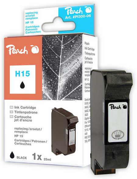 Peach  Druckkopf schwarz kompatibel zu HP OfficeJet 5110 XI