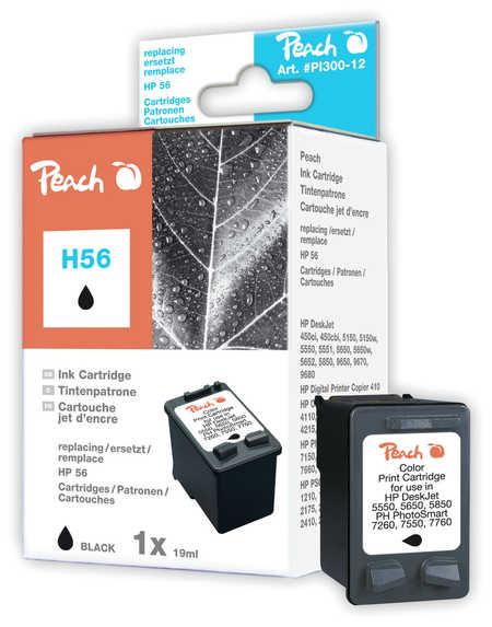 Peach  Druckkopf schwarz kompatibel zu HP OfficeJet 4252