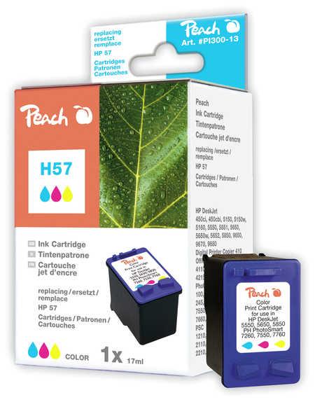 Peach  Druckkopf color kompatibel zu HP OfficeJet 4252