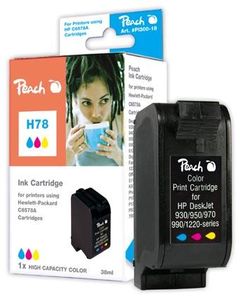Peach  Druckkopf color High Capacity kompatibel zu HP OfficeJet 5110 XI