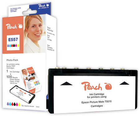 Peach  Foto Pack kompatibel zu Epson Picturemate Mobile Phone Edition