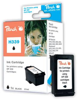 Peach  Druckkopf schwarz kompatibel zu HP OfficeJet 7210 XI