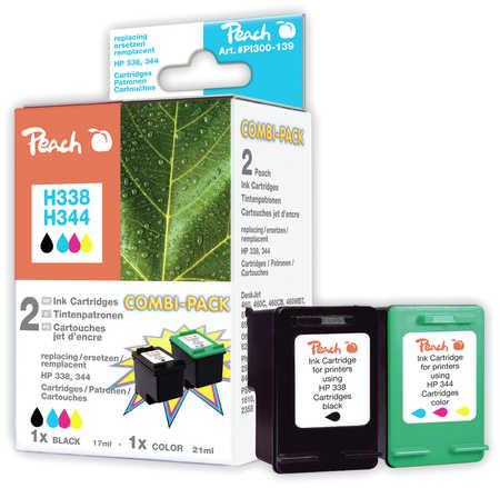 Peach  Spar Pack Druckköpfe kompatibel zu HP OfficeJet H 470 WF