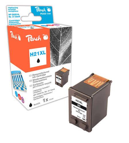 Peach  Druckkopf schwarz kompatibel zu HP OfficeJet 1410 XI