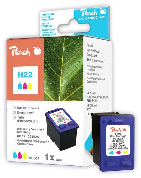 Peach  Druckkopf color kompatibel zu HP OfficeJet 5600 Series