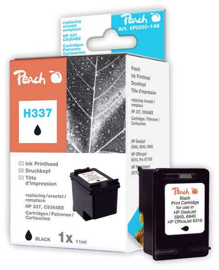 Peach  Druckkopf schwarz kompatibel zu HP OfficeJet H 470 WF