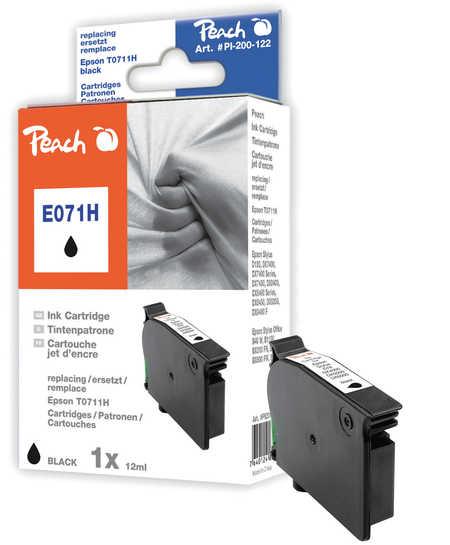Peach  Tintenpatrone schwarz kompatibel zu Epson Stylus D 120
