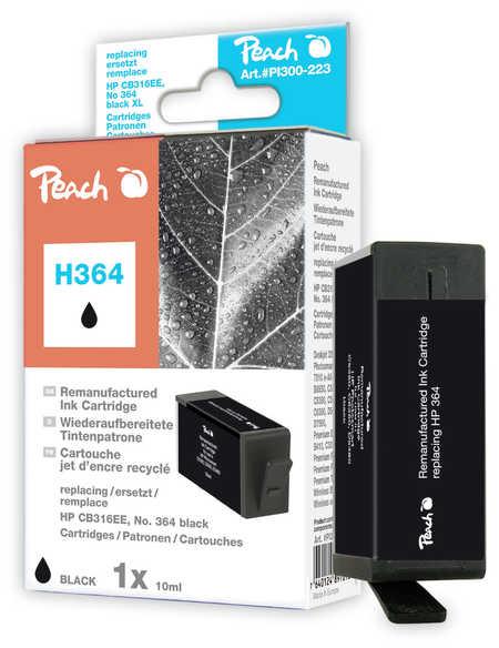 Peach  Tintenpatrone schwarz kompatibel zu HP PhotoSmart Plus