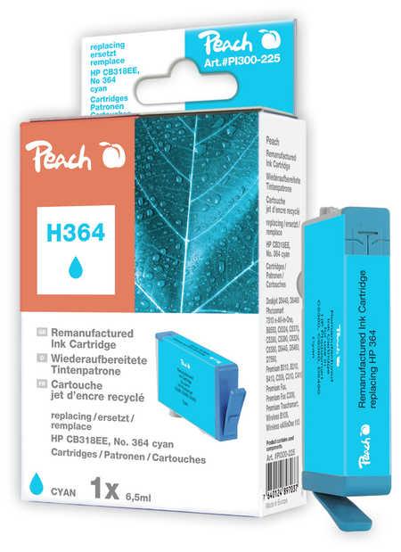 Peach  Tintenpatrone cyan kompatibel zu HP PhotoSmart Plus