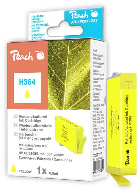 Peach  Tintenpatrone gelb kompatibel zu HP PhotoSmart Plus
