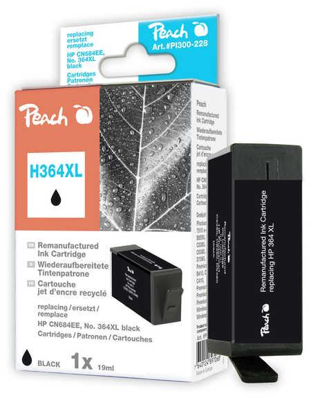 Peach  Tintenpatrone schwarz kompatibel zu HP PhotoSmart Premium B 010 a