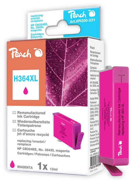 Peach  Tintenpatrone magenta kompatibel zu HP PhotoSmart Premium B 010 a