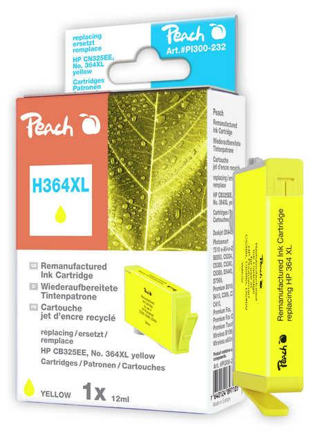 Peach  Tintenpatrone gelb kompatibel zu HP PhotoSmart Premium B 010 a