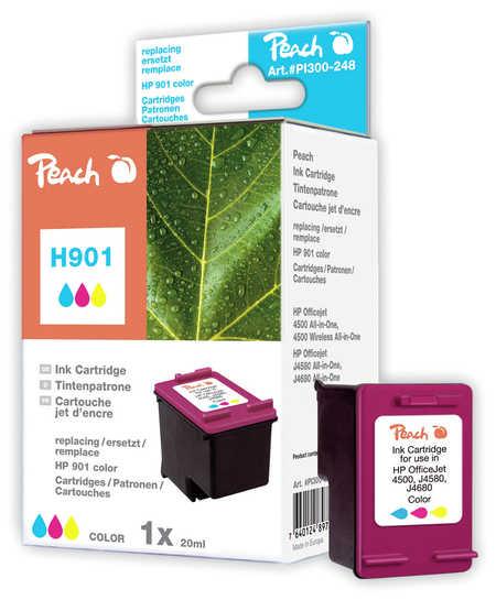 Peach  Druckkopf color kompatibel zu HP OfficeJet 4500