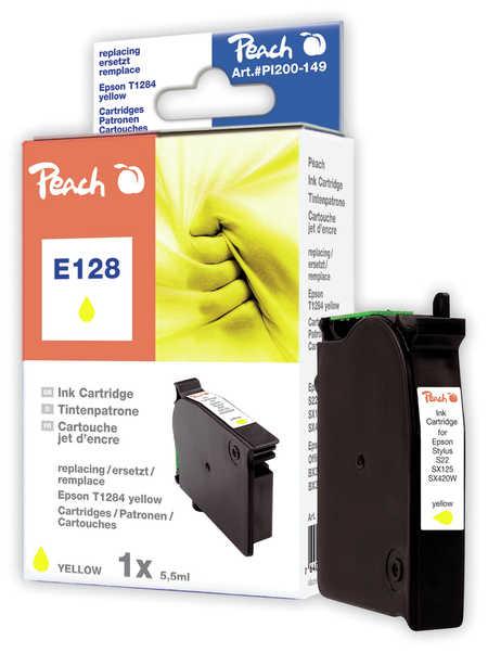 Peach  Tintenpatrone gelb kompatibel zu Epson Stylus T 22