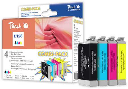 Peach  Spar Pack Tintenpatronen kompatibel zu Epson Stylus T 22