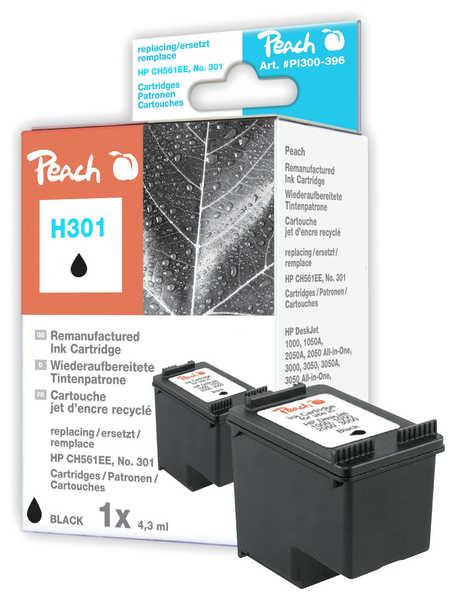 Peach  Druckkopf schwarz kompatibel zu HP OfficeJet 4639