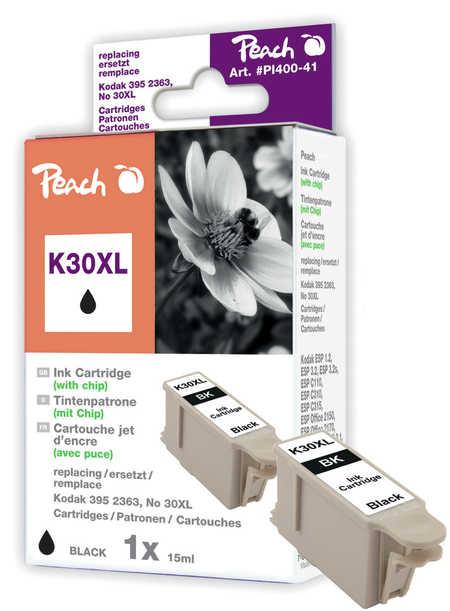 Peach  Tintenpatrone schwarz kompatibel zu Kodak ESP C 110 Series